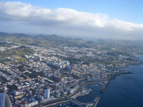 Vista aérea Ponta Delgada